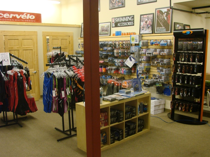 Gear West Bike and Tri Swim Section