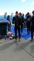 First race in the new suit
